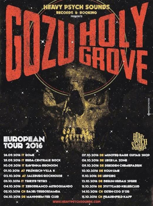 gozu holy grove tour