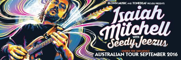 isaiah mitchell seedy jeezus tour banner