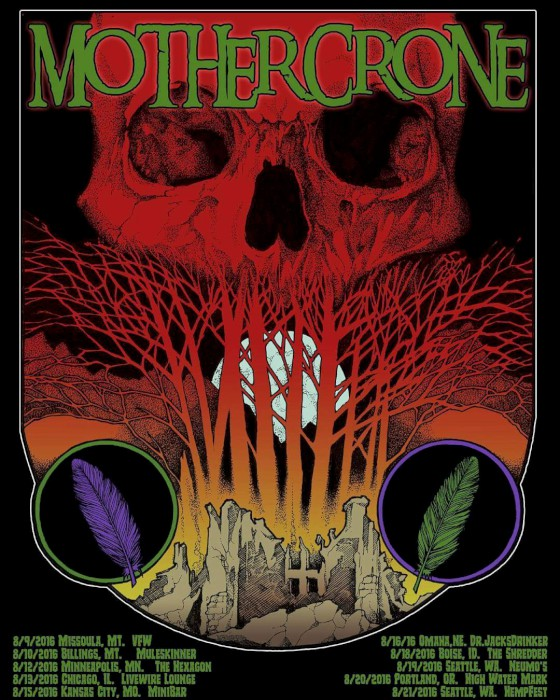 mother crone tour poster