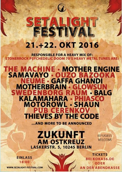 setalight festival 2016 poster