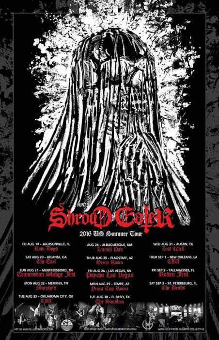 shroud eater summer tour poster
