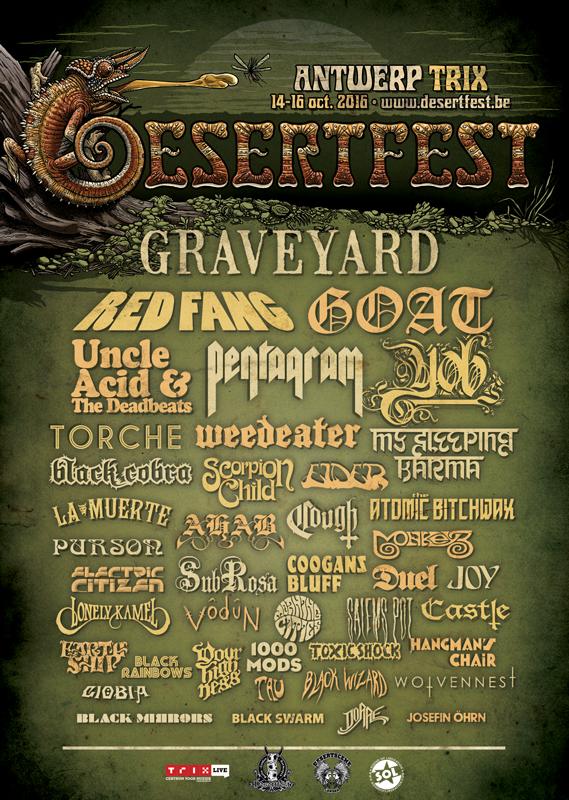 desertfest belgium 2016 last poster