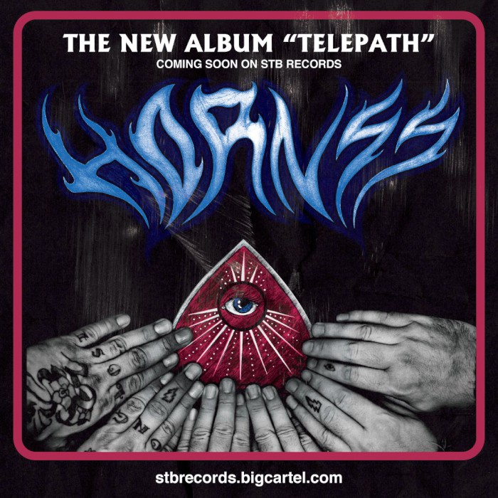 hornss telepath vinyl flyer