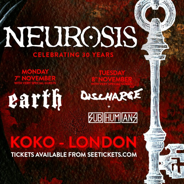 neurosis london shows