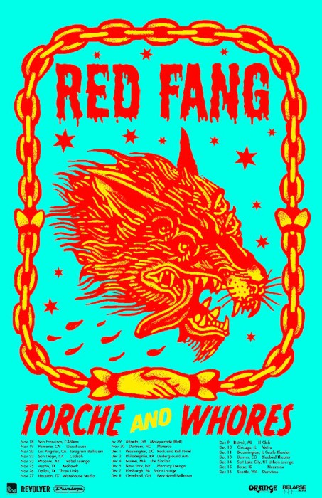 red fang us dates