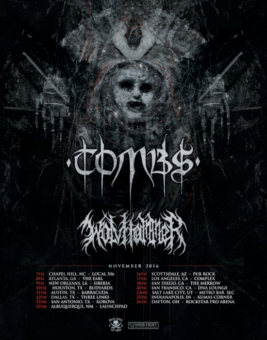 tombs tour poster