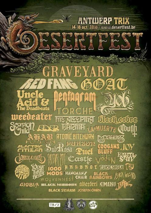 desertfest belgium 2016 final poster