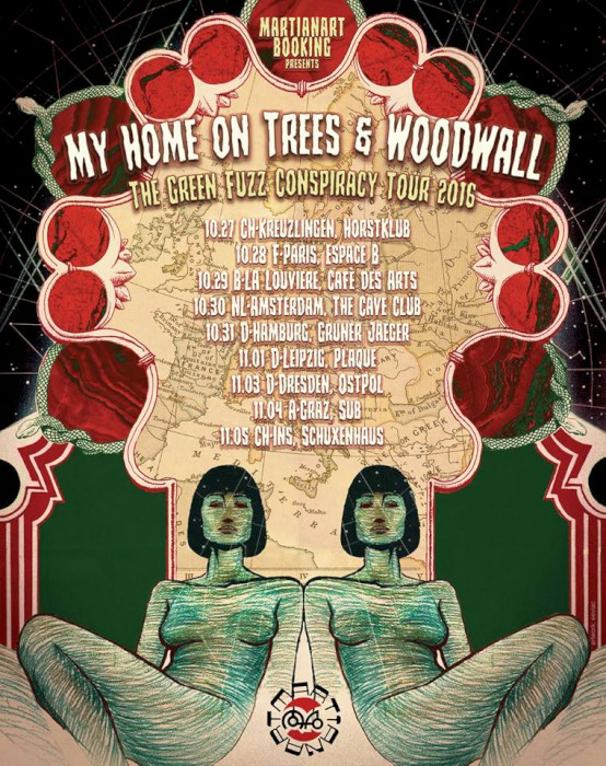 my home on trees tour poster