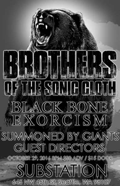 brothers-of-the-sonic-cloth-show-poster