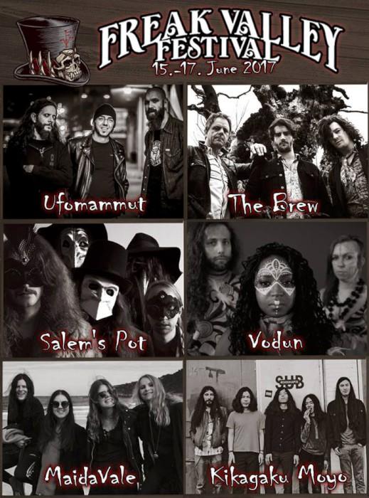 FREAK VALLEY 2017: Salem's Pot, Vodun, MaidaVale & More Added