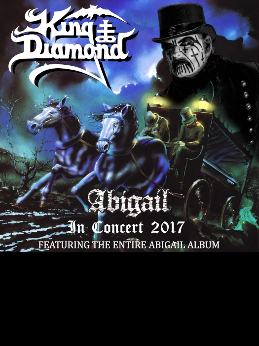king diamond abigail psycho las vegas 2017