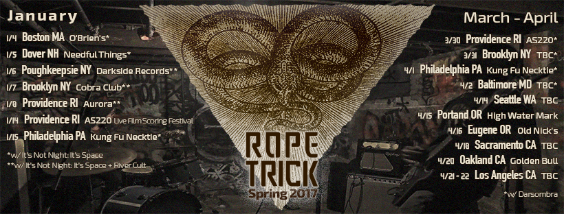 rope trick tour dates