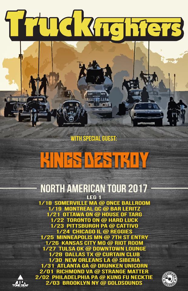 truckfighters kings destroy poster