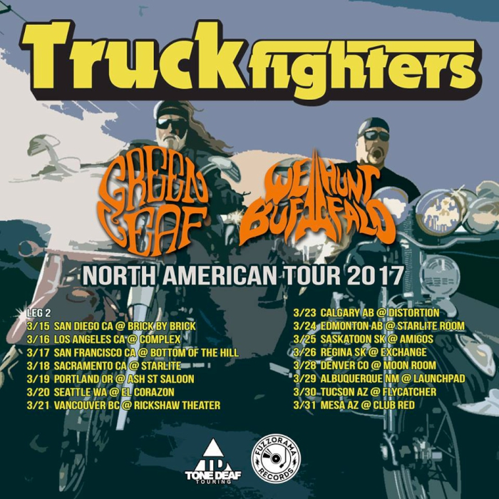 truckfighters tour leg two