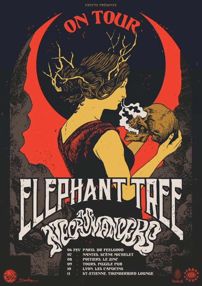 elephant tree france tour