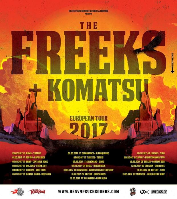 the freeks komatsu tour