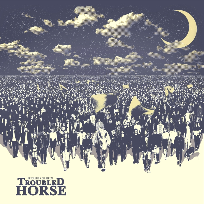 troubled horse revolution on repeat