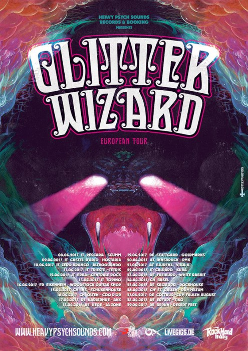 glitter wizard european tour