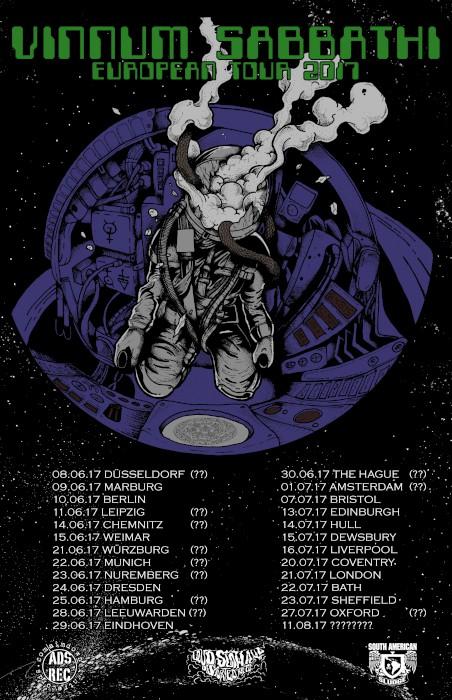 vinnum sabbathi euro tour