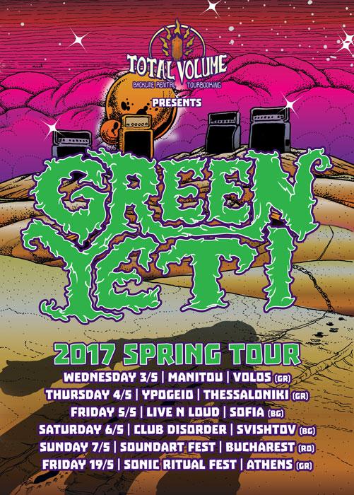 green yeti tour