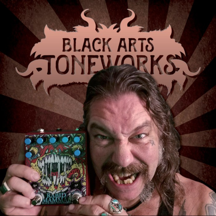 matt pike black arts toneworks rabid mammal
