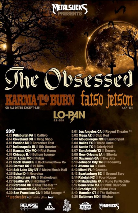 Karma To Burn Tour Dates