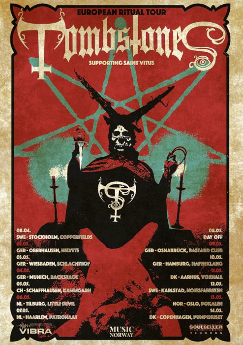 tombstones tour with saint vitus