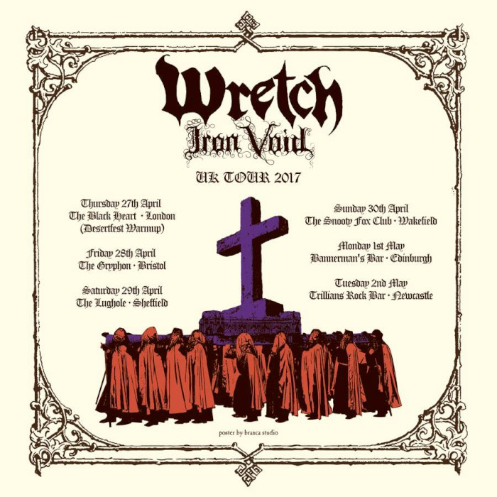 wretch iron void uk tour