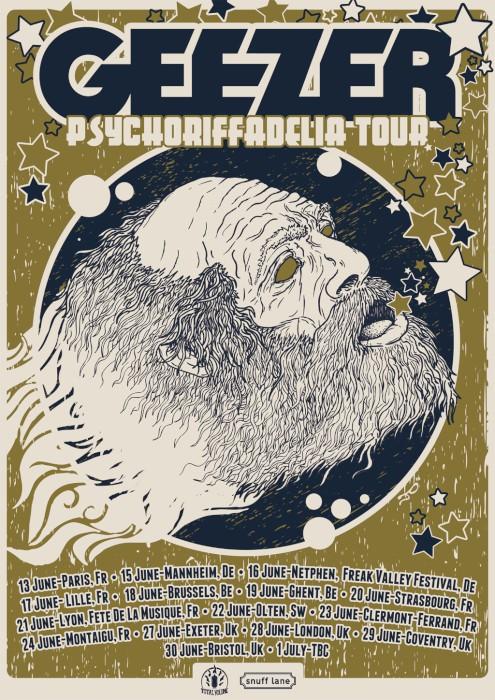 geezer tour poster.