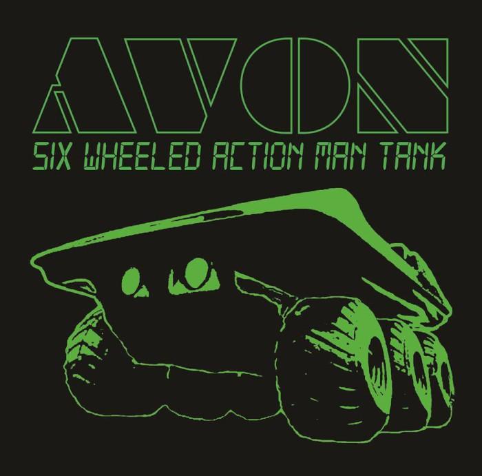 avon six wheeled action man tank
