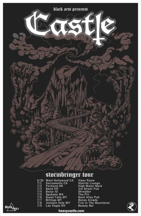 castle tour poster