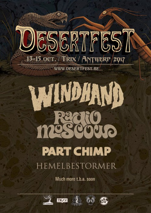 desertfest belgium 2017 poster