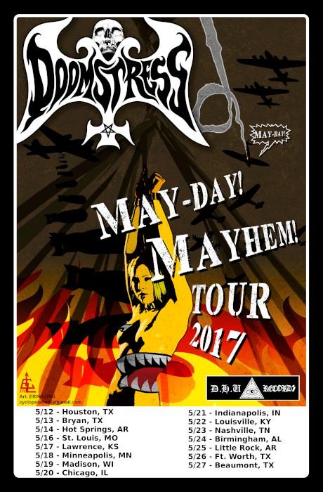 doomstress tour poster