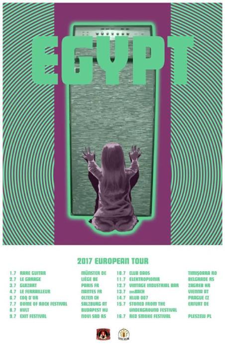 egypt tour poster