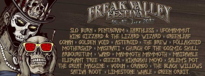 freak valley 2017 lineup