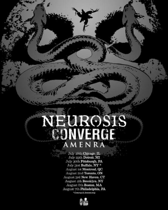 neurosis tour poster
