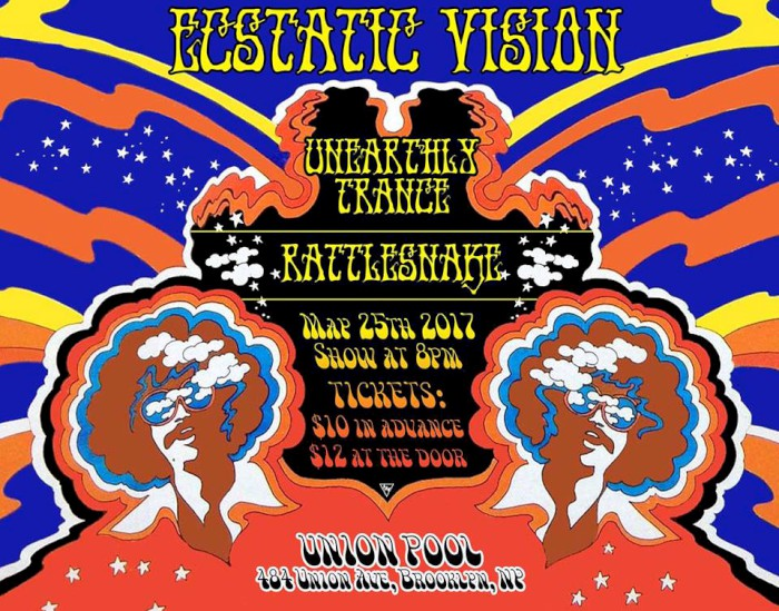 rattlesnake unearthly trance ecstatic vision