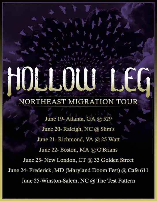 hollow leg june tour