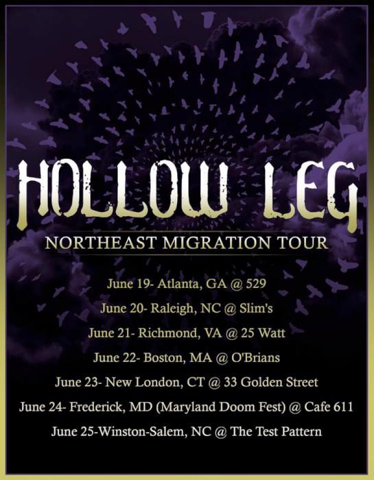 hollow leg june tour