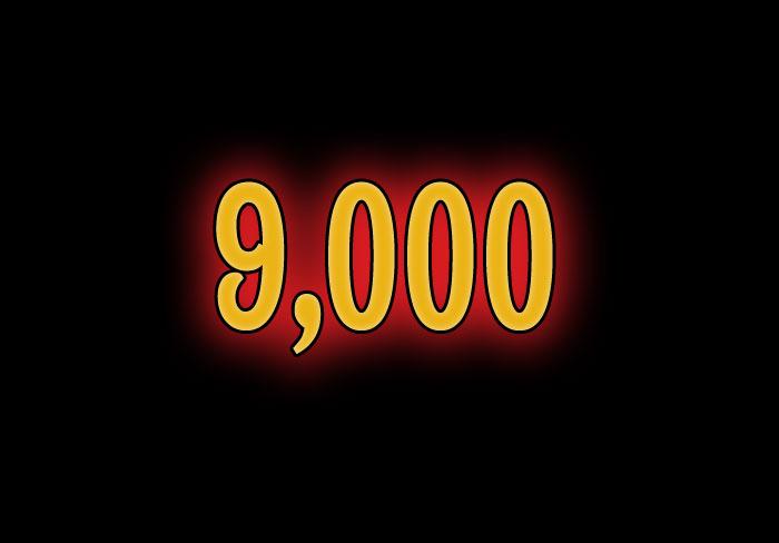 9000th post