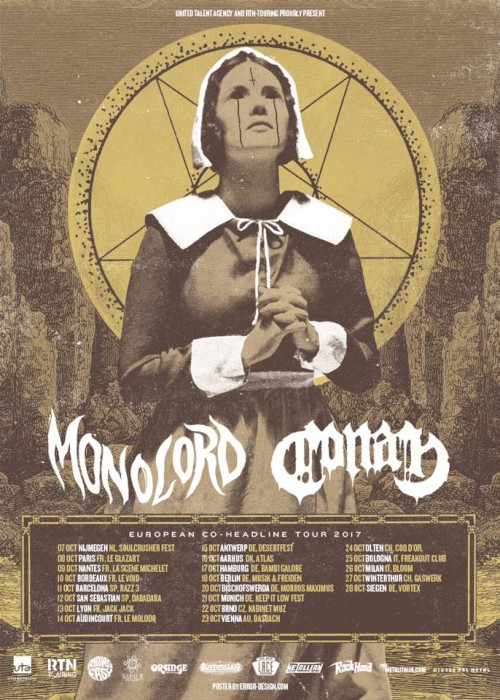 conan monolord tour