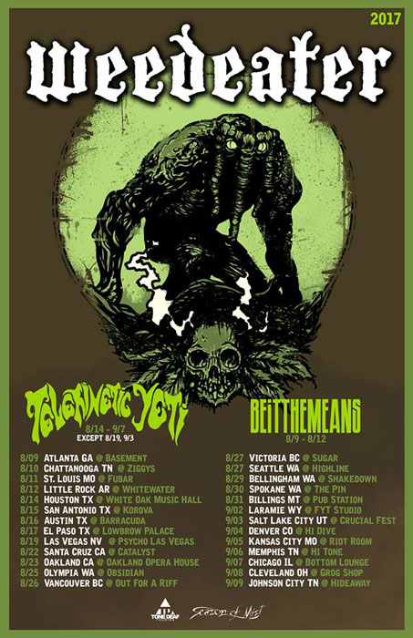 weedeater tour aug 2017