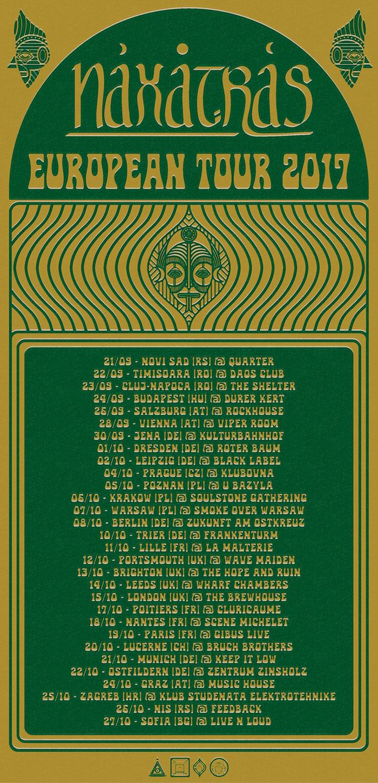 naxatras european tour