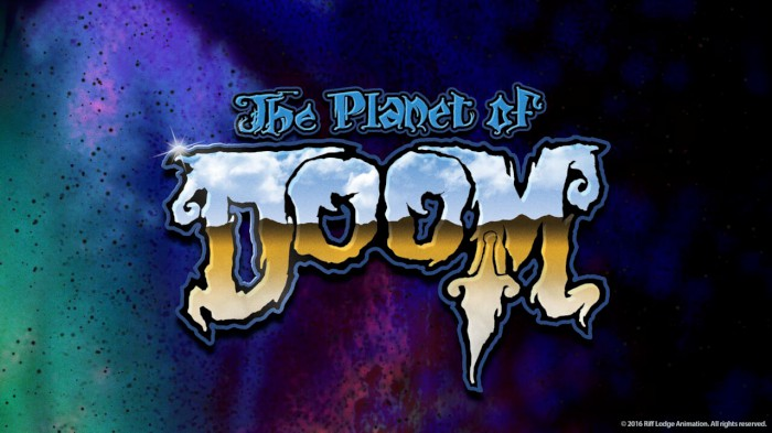 THE PLANET OF DOOM LOGO