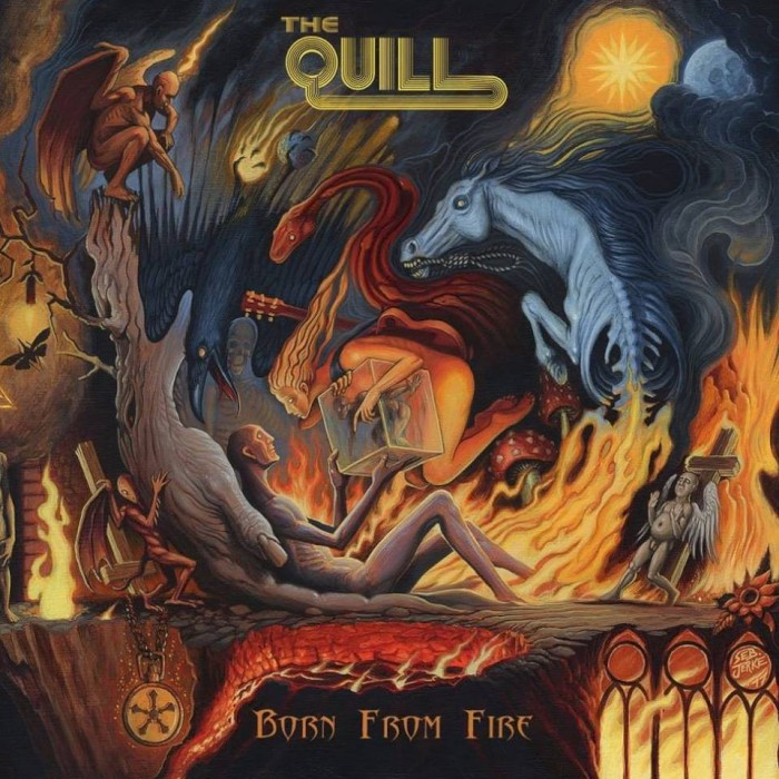 the quill born from fire