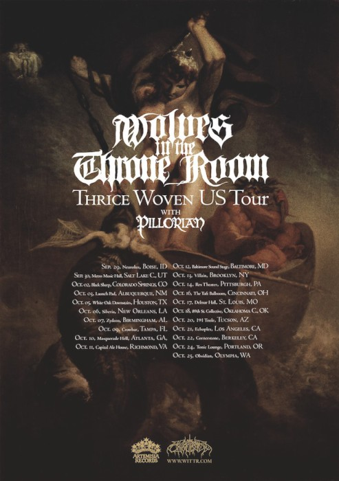 WOLVES IN THE THRONE ROOM TOUR