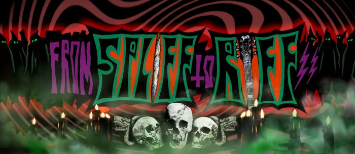 From Spliff to Riff banner