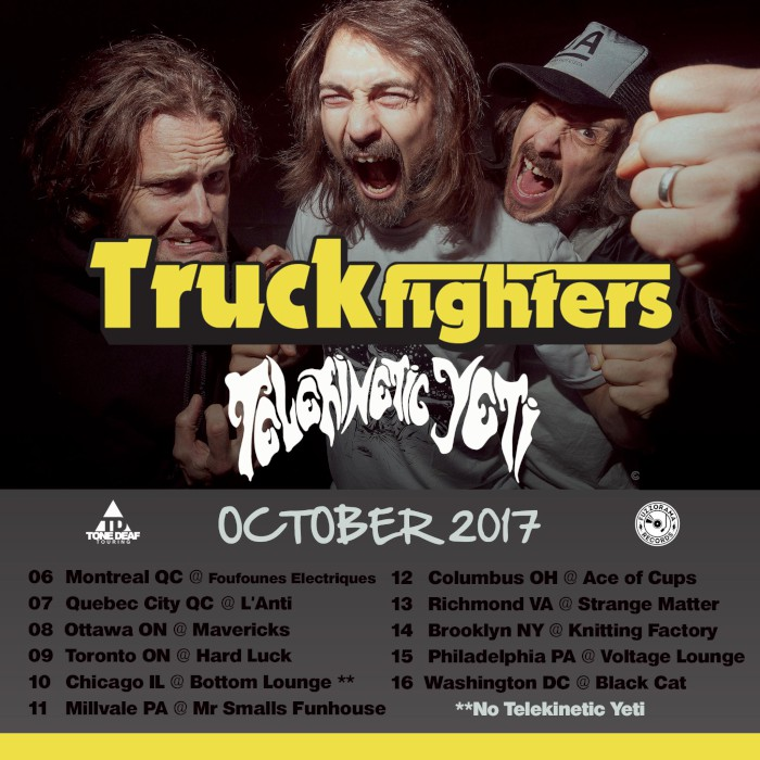 truckfighters oct tour