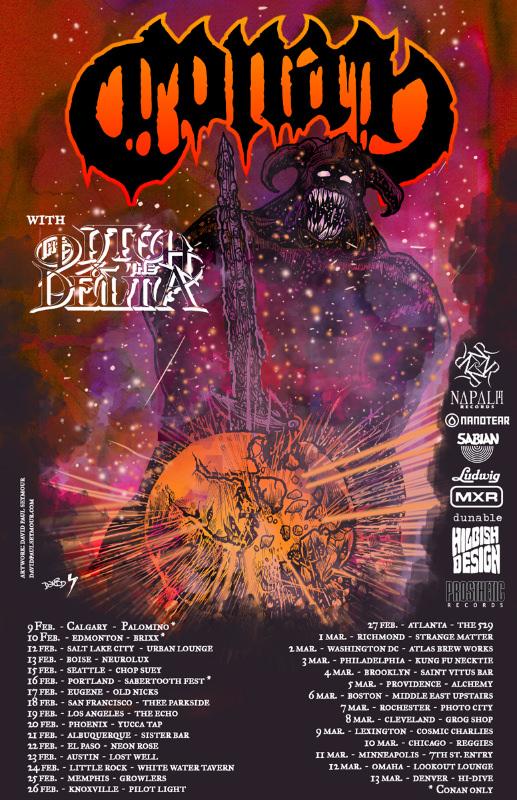 conan tour poster