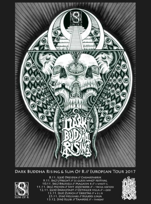 dark buddha rising tour